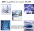 Thumbnail 5 Christmas Screensavers 2011