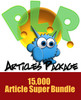 15000 Monster PLR Article Package