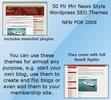 Thumbnail 50 Plr Mrr News Style Wordpress SEO  Themes