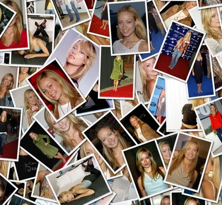 Product picture Olivia Wilde Photo collage