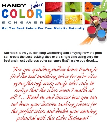Product picture Handy Color Schemer ( web color picker )