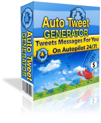 Product picture Auto Tweet Generator Twitter Scheduler