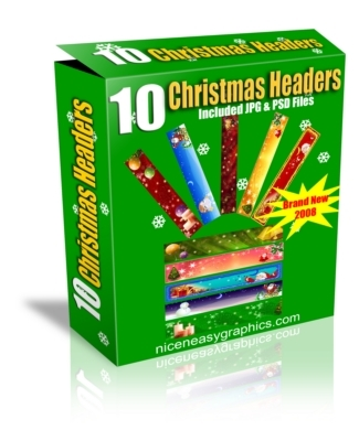 Product picture 10 Christmas Headers MRR