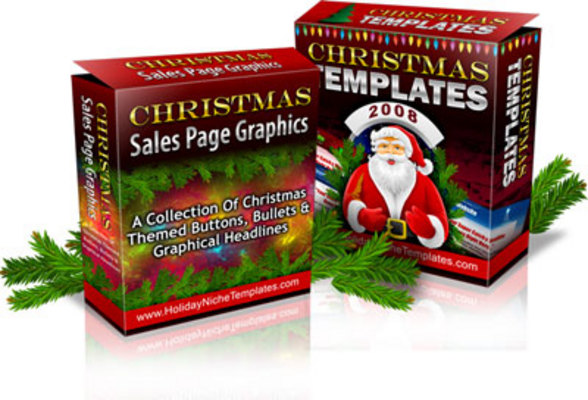 Product picture 5 xmas sites (html + psd)
