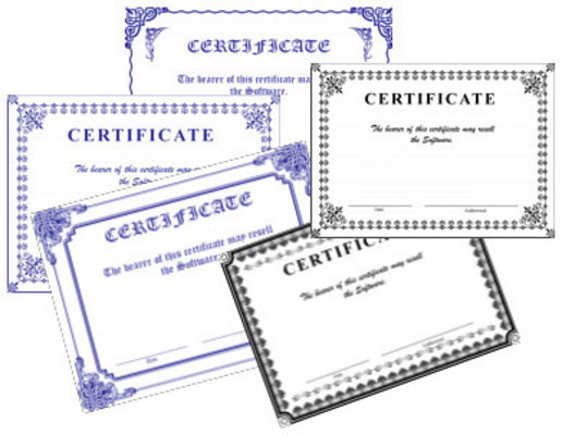 Product picture Graphic Certificate Templates