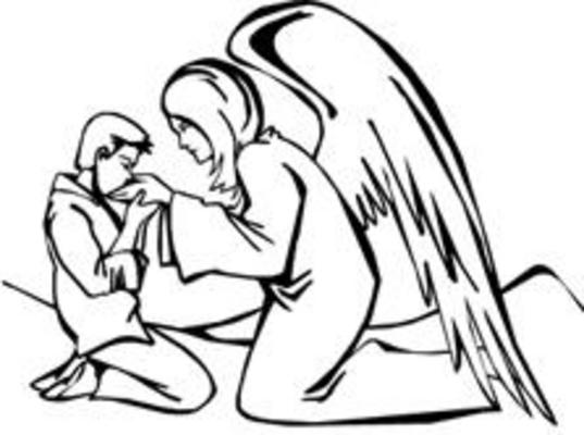Product picture Angels Printable Pyrography Stencils