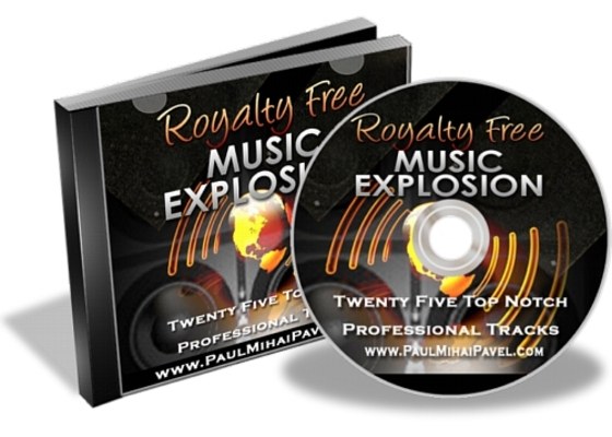 Product picture Royalty Free Music Explosion 25 Tracks