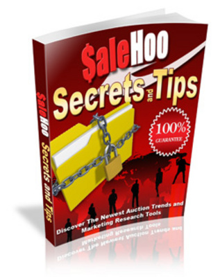 Product picture SaleHoo Secrets And Tips