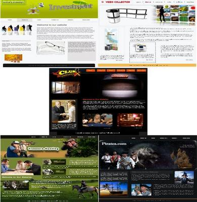 Product picture 5 Niche html templates with psd