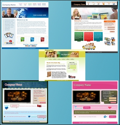 Product picture 5 HTML Templates - Private Label Rights
