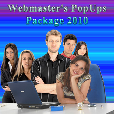 Product picture Webmasters PopUps Package 2011